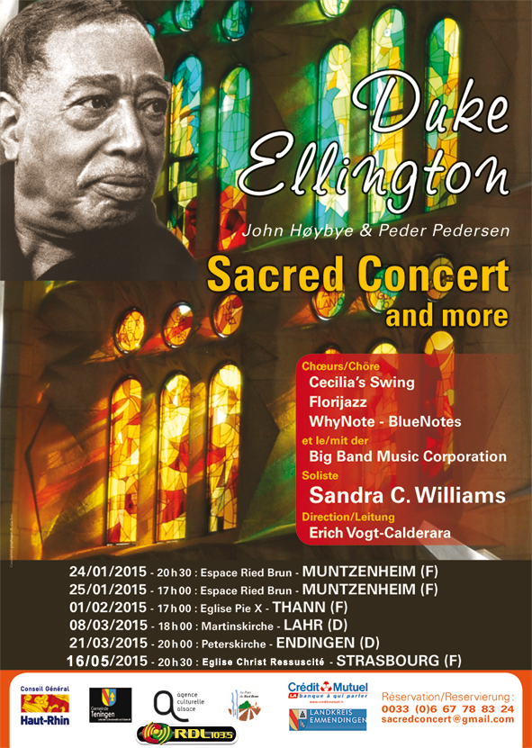 Affiche Sacred Concert and more